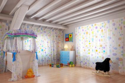 Buntes Babyzimmer