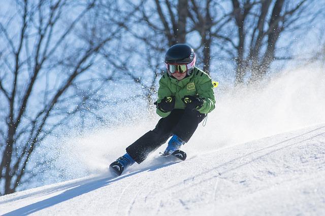 ski erzgebirger mit kind