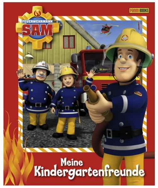 Freundebuch Feuerwehrmann Sam