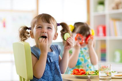 gesundes Essen im Kindergarten