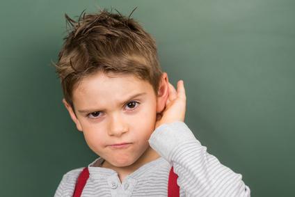 Hörtest bei Kinder
